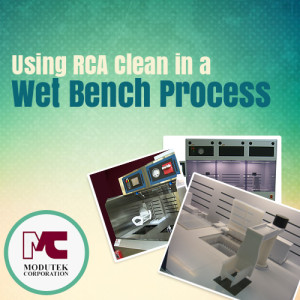 Using RCA Clean in a Wet Bench Process