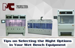 Tips on Selecting the Right Options for Your Wet Bench Equipment