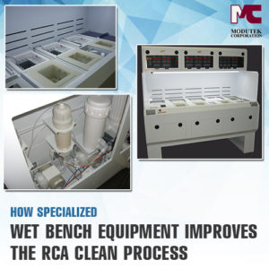 How Specialized Wet Bench Equipment Improves the RCA Clean Process
