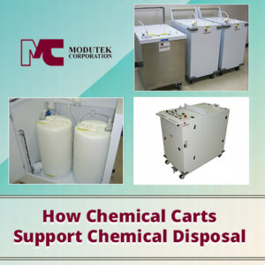 How Chemical Carts Support Chemical Disposal